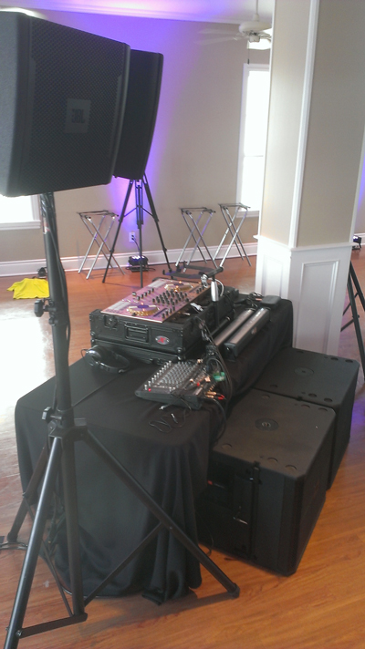DPC Event Services - Audio Packages with Speakers and Control Board