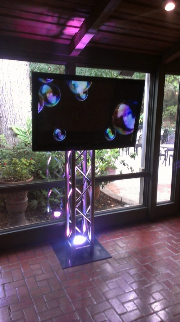 LED Screens on Truss Structure
