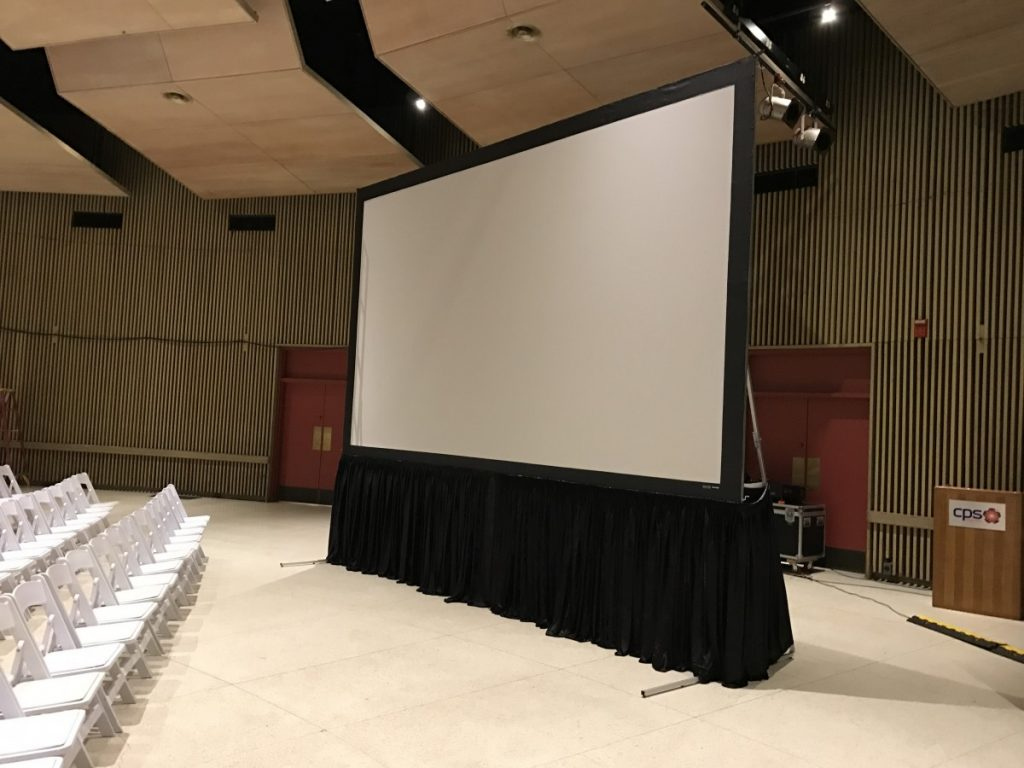 Screen Projection System