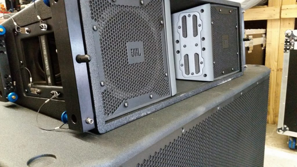 Sound Systems - JBL Speakers Equipment Used