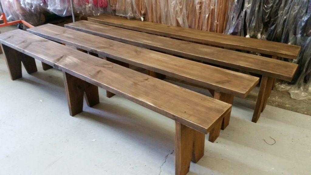 Rustic Looking Benches
