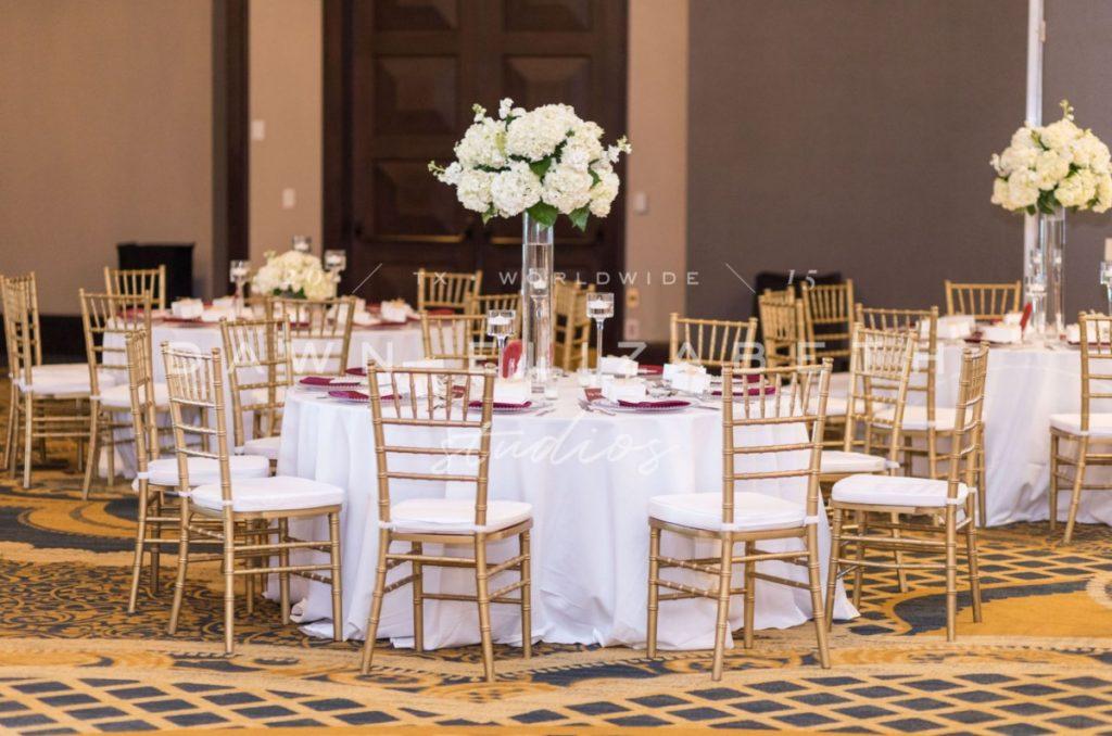 Gold Chiavari Chairs - Dawn Elizabeth Studios Photo