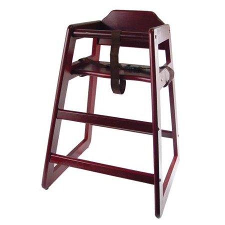 High Chairs - Mahogany