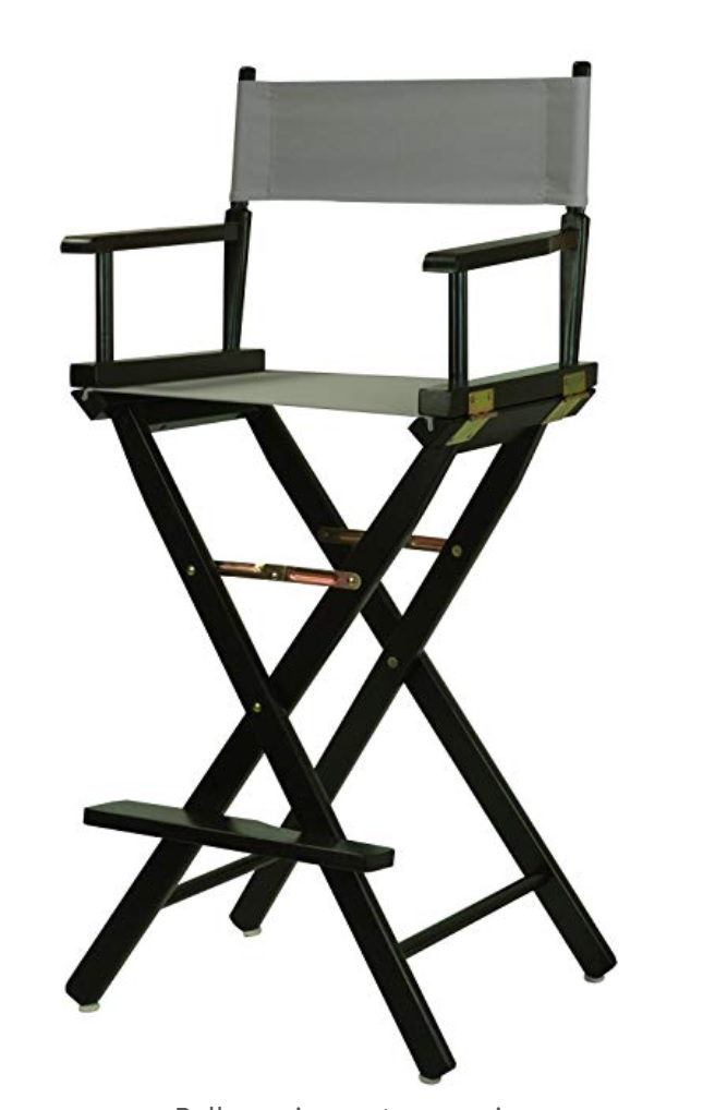 Gray Directors Chairs (2) Available