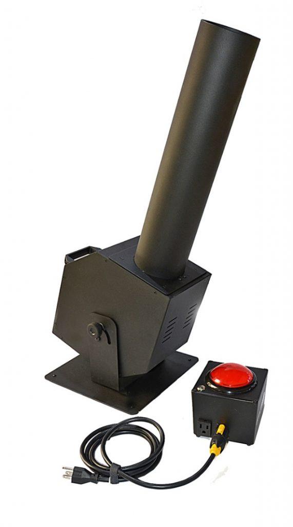 Confetti Launcher - Uses CO2 tank for Continuous Flow of Confetti