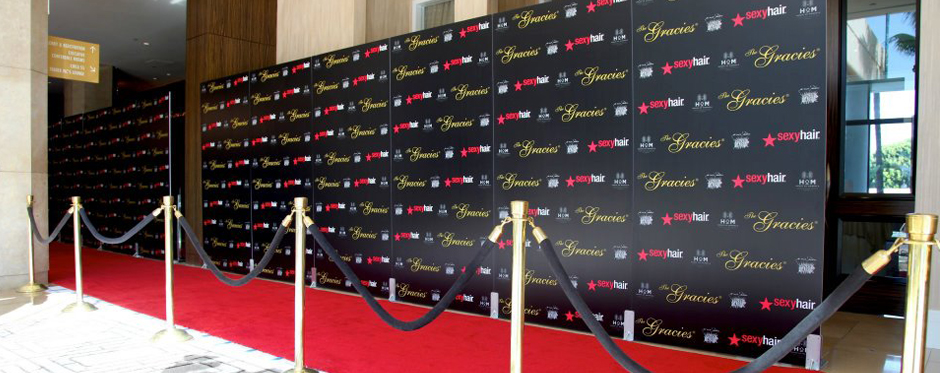 Step and Repeat Red Carpet