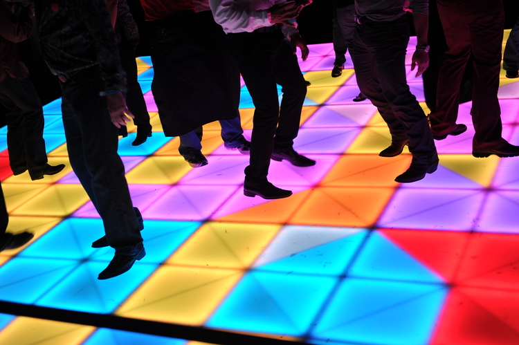 Dance Floor Creates Fun Environment For Everyone!