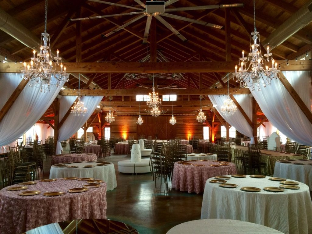 Chandeliers Throughout Room