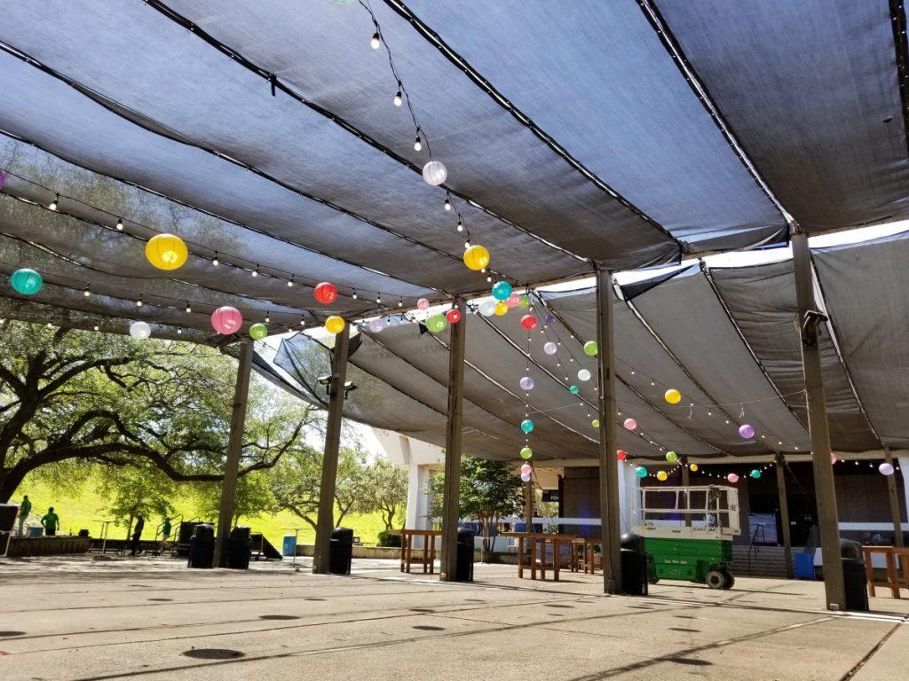 Multi-Colored Paper Lanterns