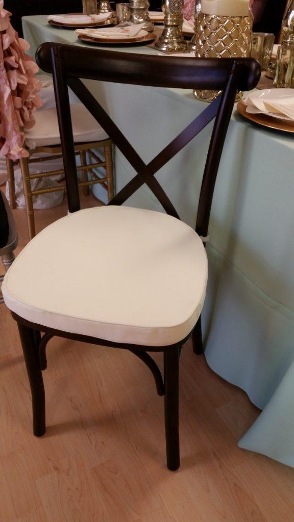 Mahogany Crossback Chair
