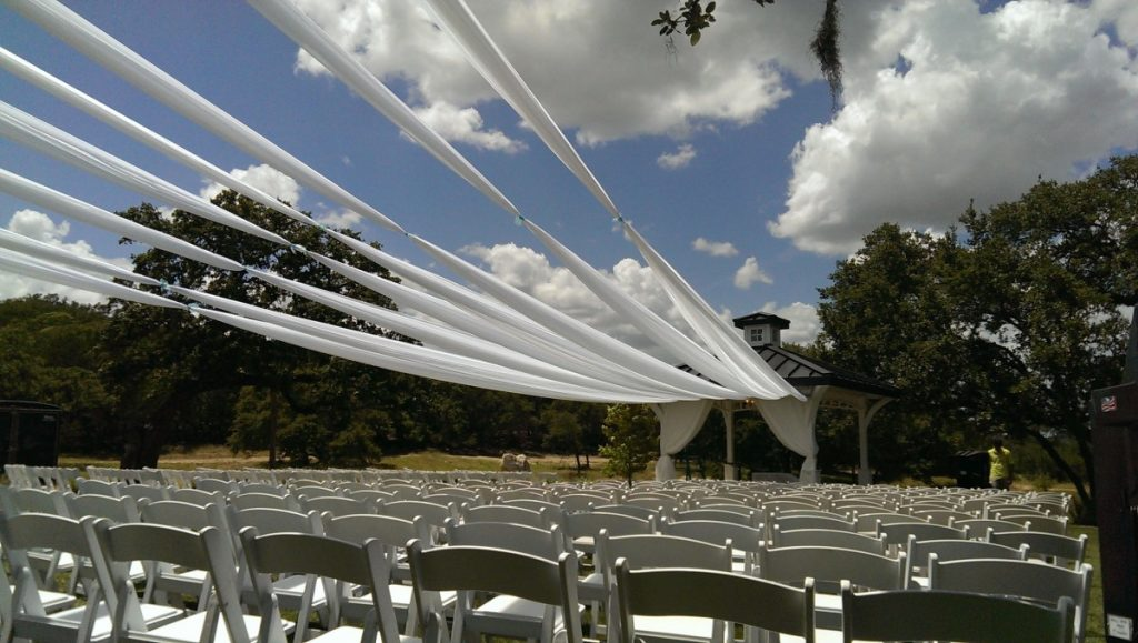 Outdoor Ceremony Draping