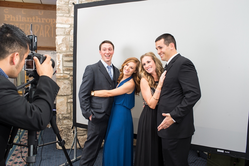 Our staff takes photo first!
