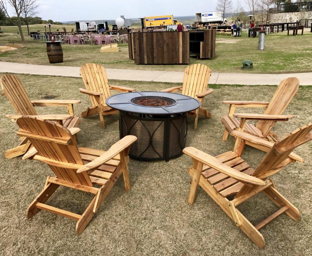 Outdoor Round Fire Pit