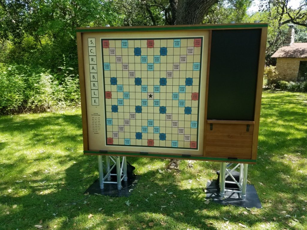 Games and More - Life-Size Scrabble