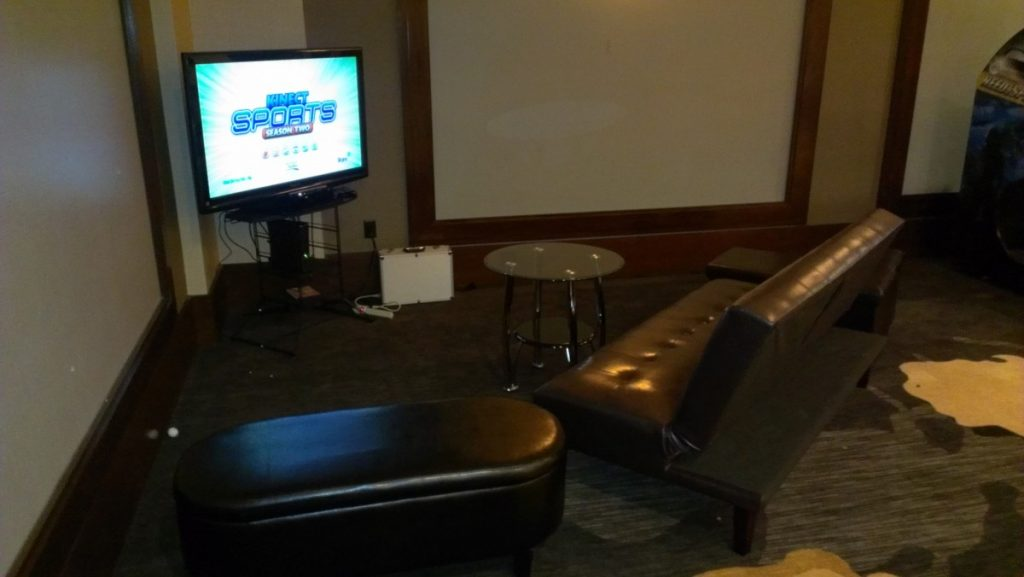 Wii Video Game Console with LED Plasma Screen