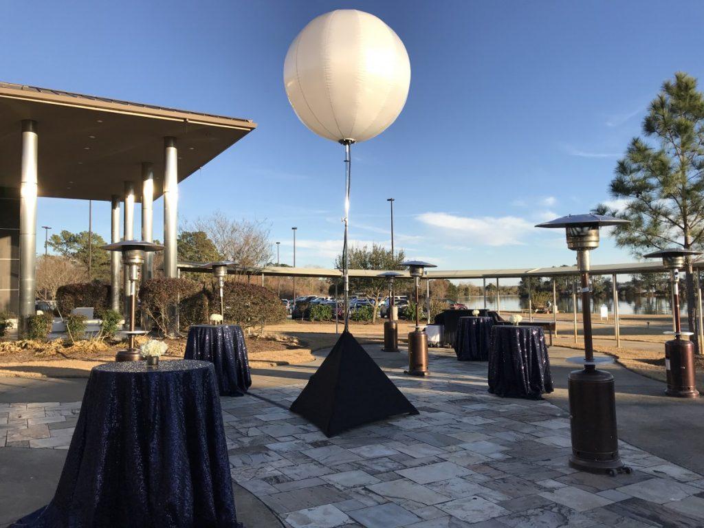 5ft Diameter Airstar - Balloon Moon Lighting