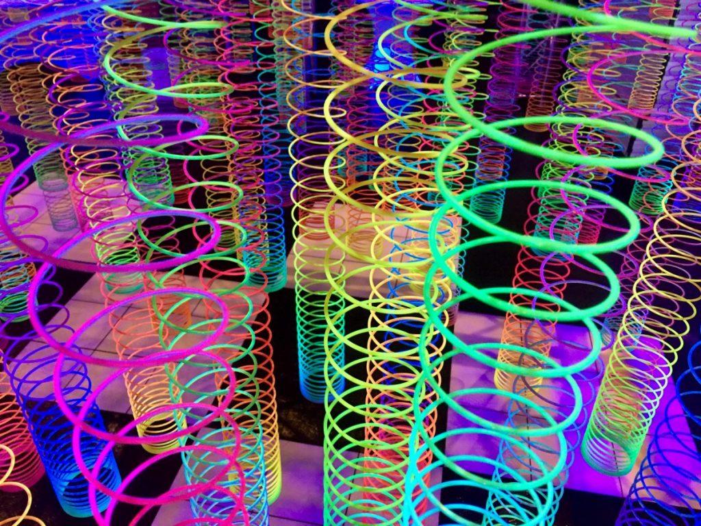 Black Light Lighting with Dancefloor