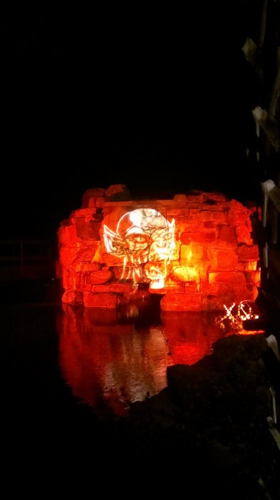 Halloween Themed Gobo Lighting