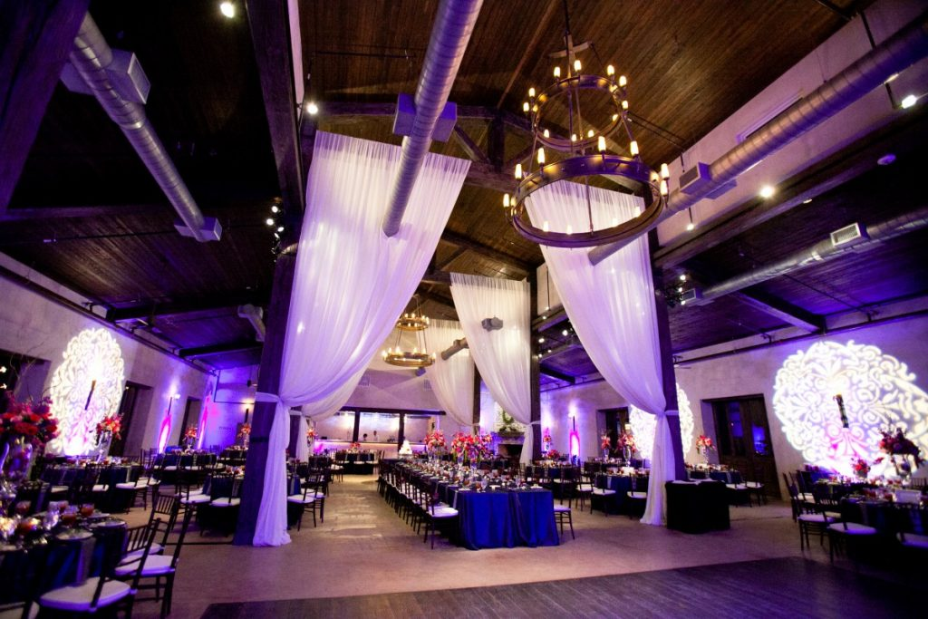 Uplighting and Gobo Light Projection