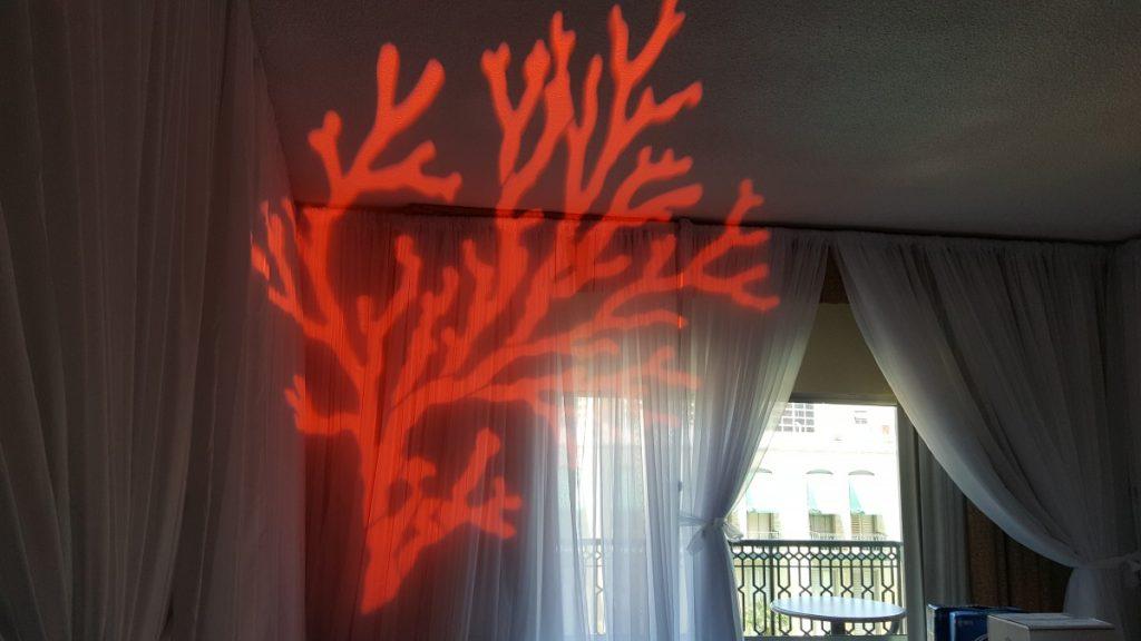 Custom Themed Gobo Light Projection