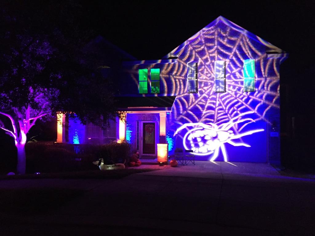 Halloween Themed Gobo Projection Lighting
