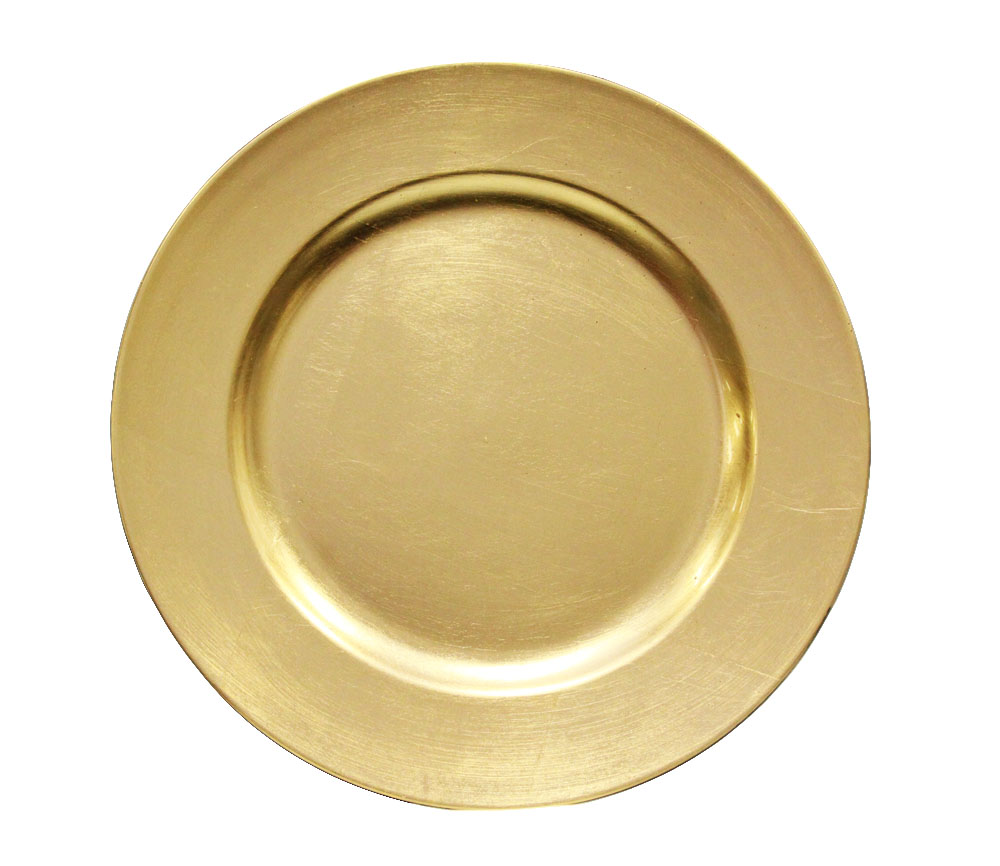 Gold Resin Charger