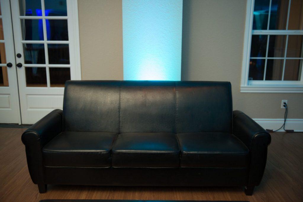 Black Sofa - Lounge Furniture