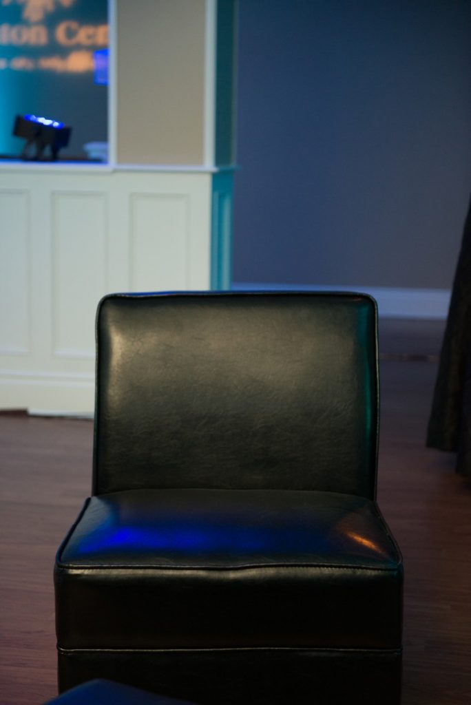 Armless Chair - Black Lounge Furniture