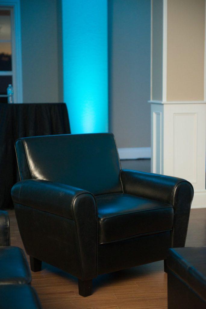 Arm Chair - Black Lounge Furniture