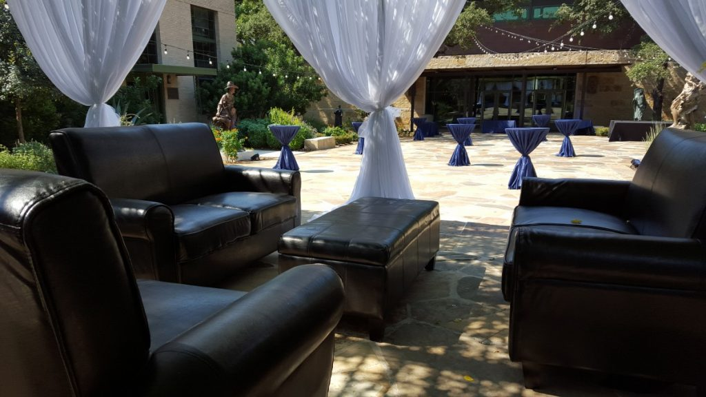 Sofas with Ottoman - Outdoor