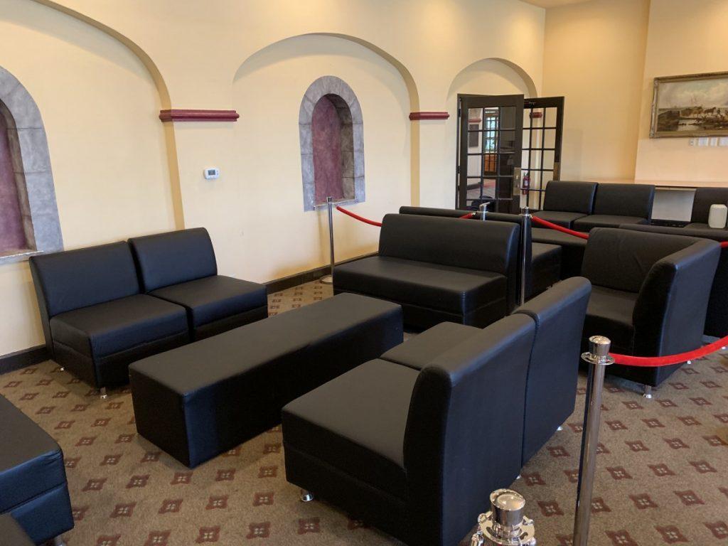Matte Black Lounge Furniture
