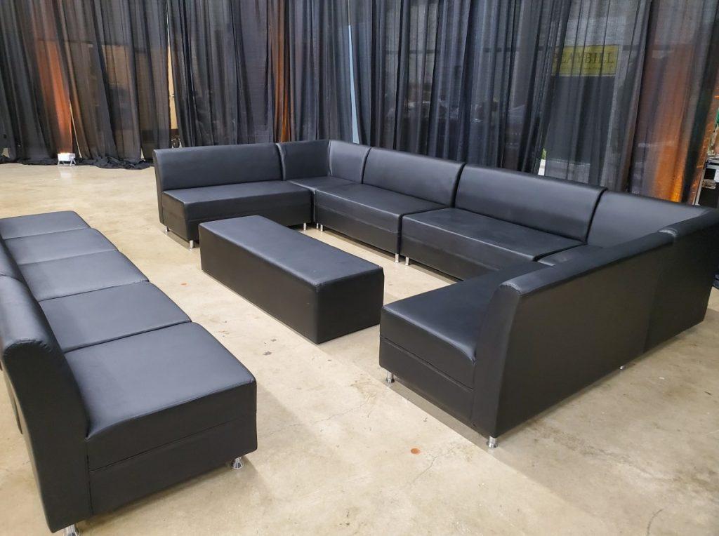 Black Matte Lounge Set