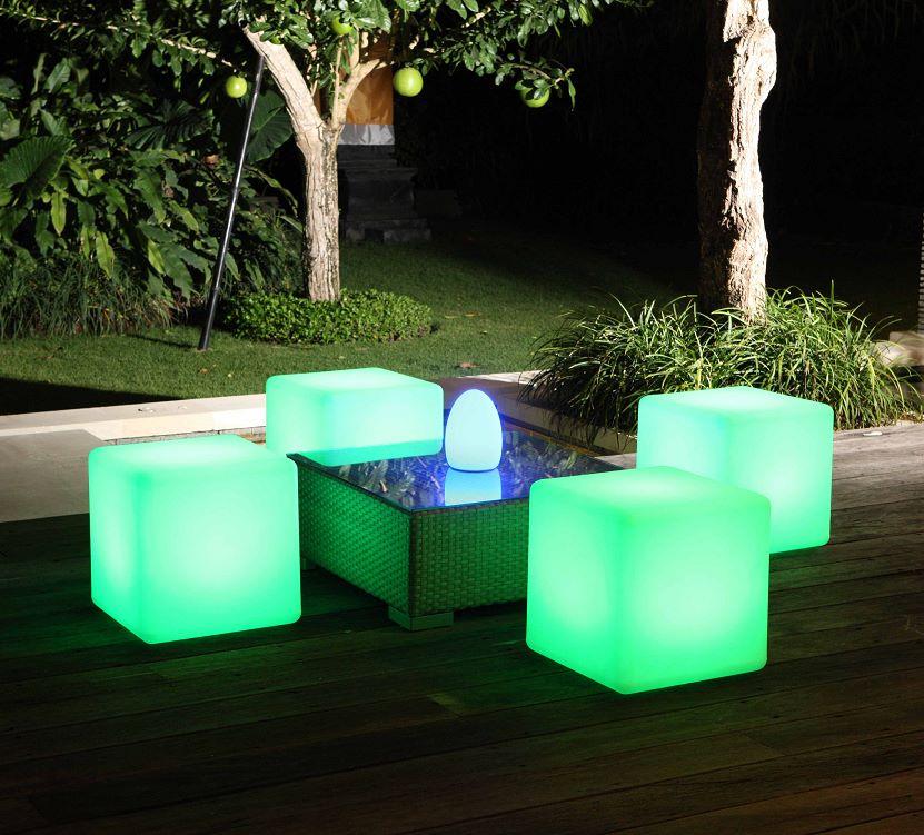 LED Cube Seats