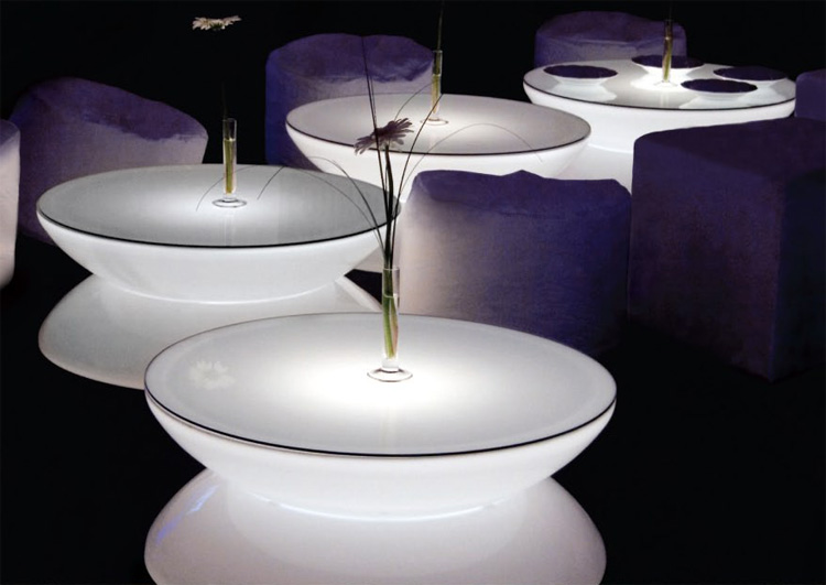 LED Coffee Tables