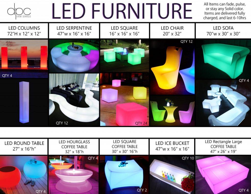 LED Furniture List (Furniture)