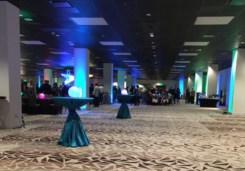 Table Top LED Orbs