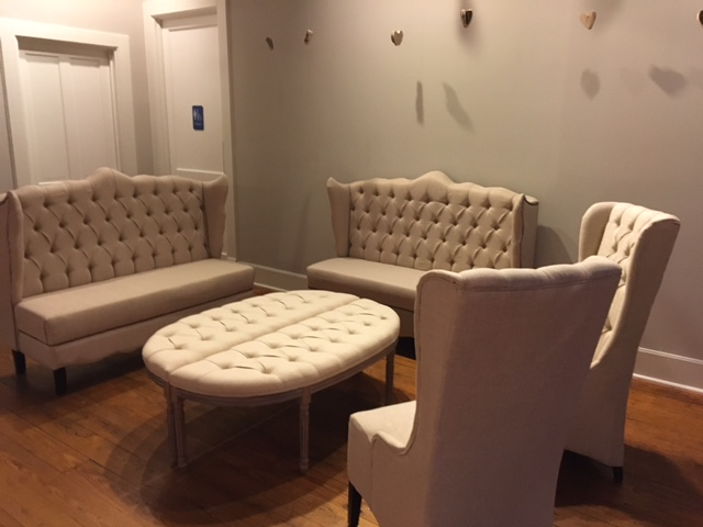 Natural Linen Lounge Furniture