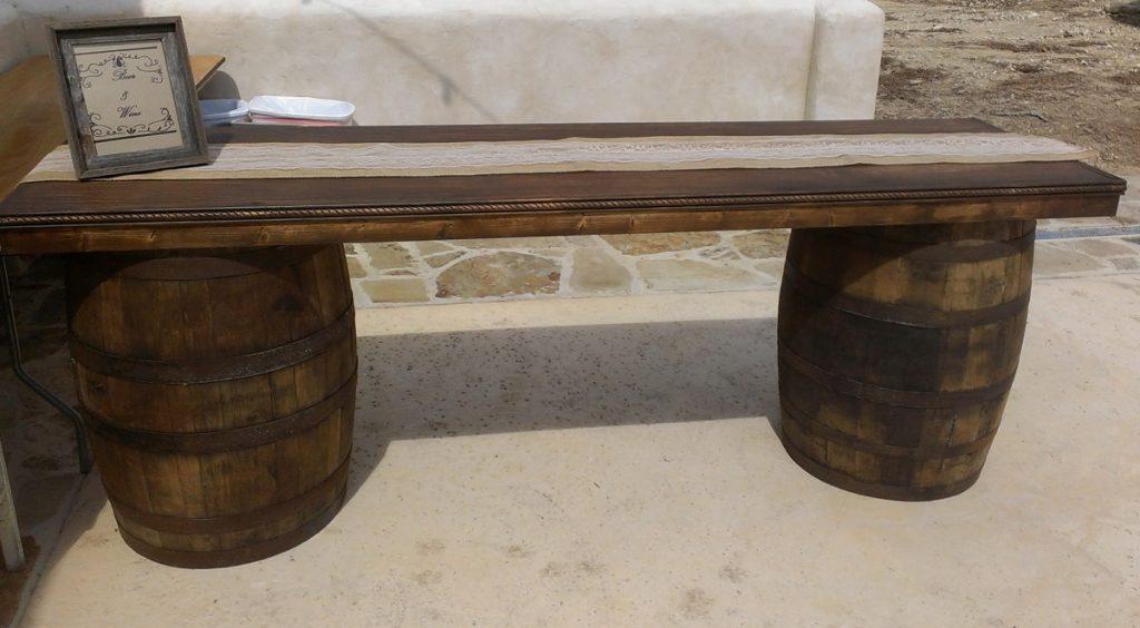 Wine Barrel Rustic Bars