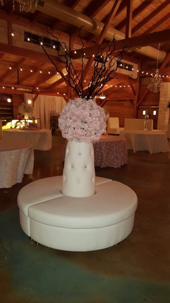Crystal Island White Leather Furniture