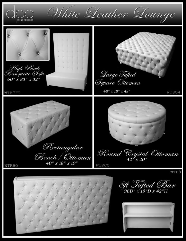 White Leather Furniture Options 3