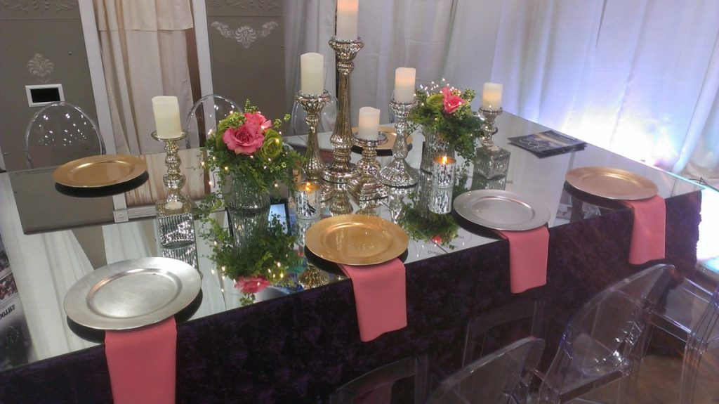 Custom Tables - Mirrored Rectangle Table