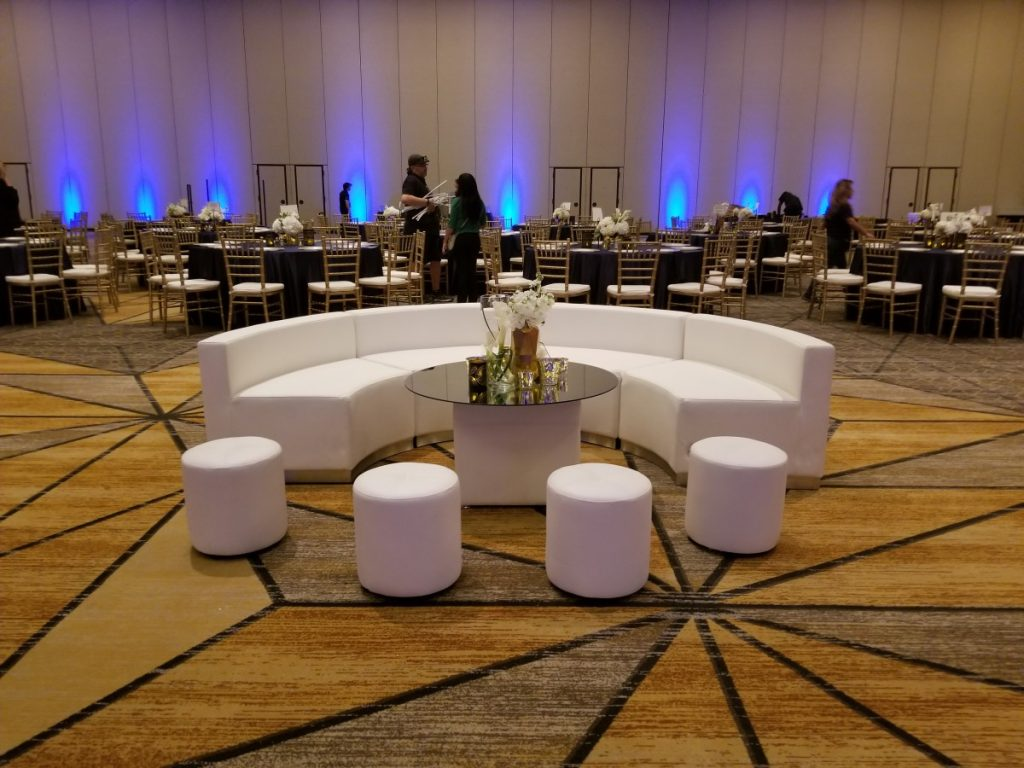 Custom Mirrored Lounge Table