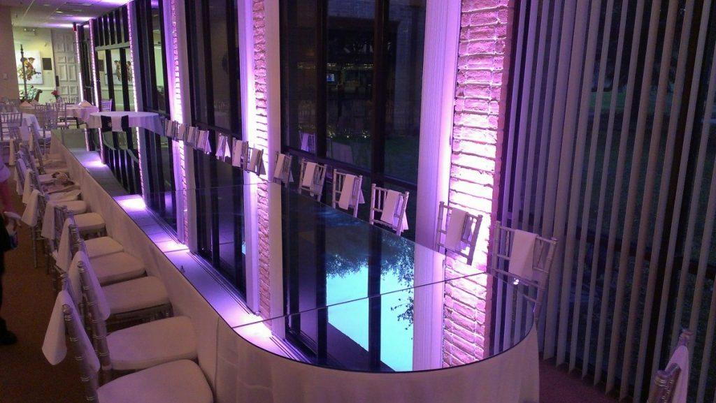 Custom Tables - Mirrored Edging