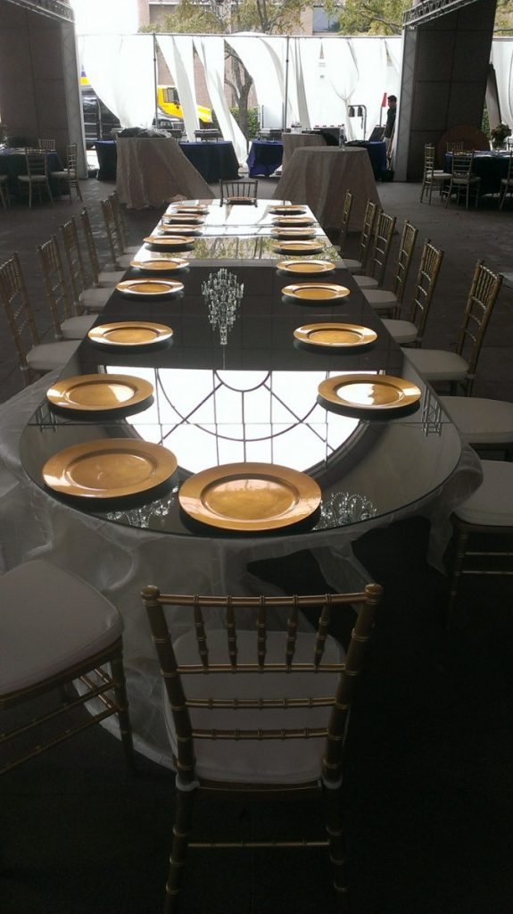 Custom Tables - Mirrored Rounded Edging