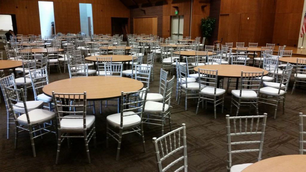 Standard Round Tables - No Linen