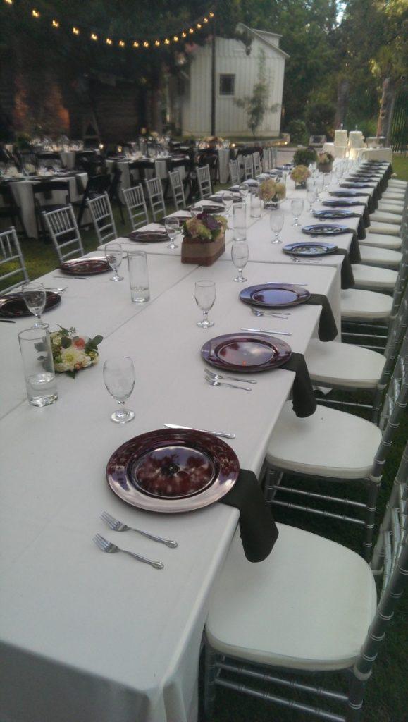 Rectangle Banquet Tables
