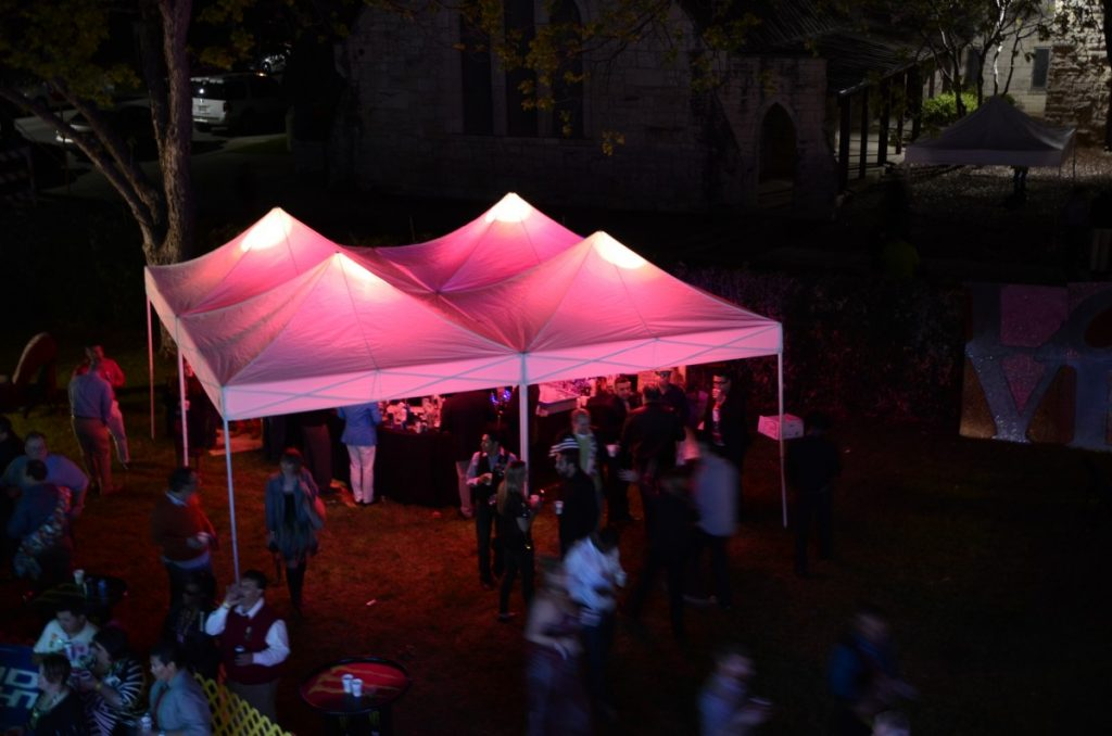 10' x 10' Tents with Uplights