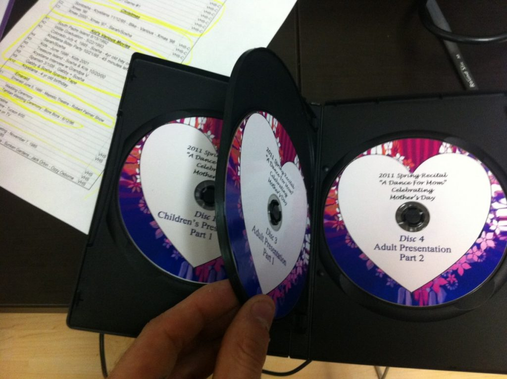DVD Copies with Full Design and Color Labels