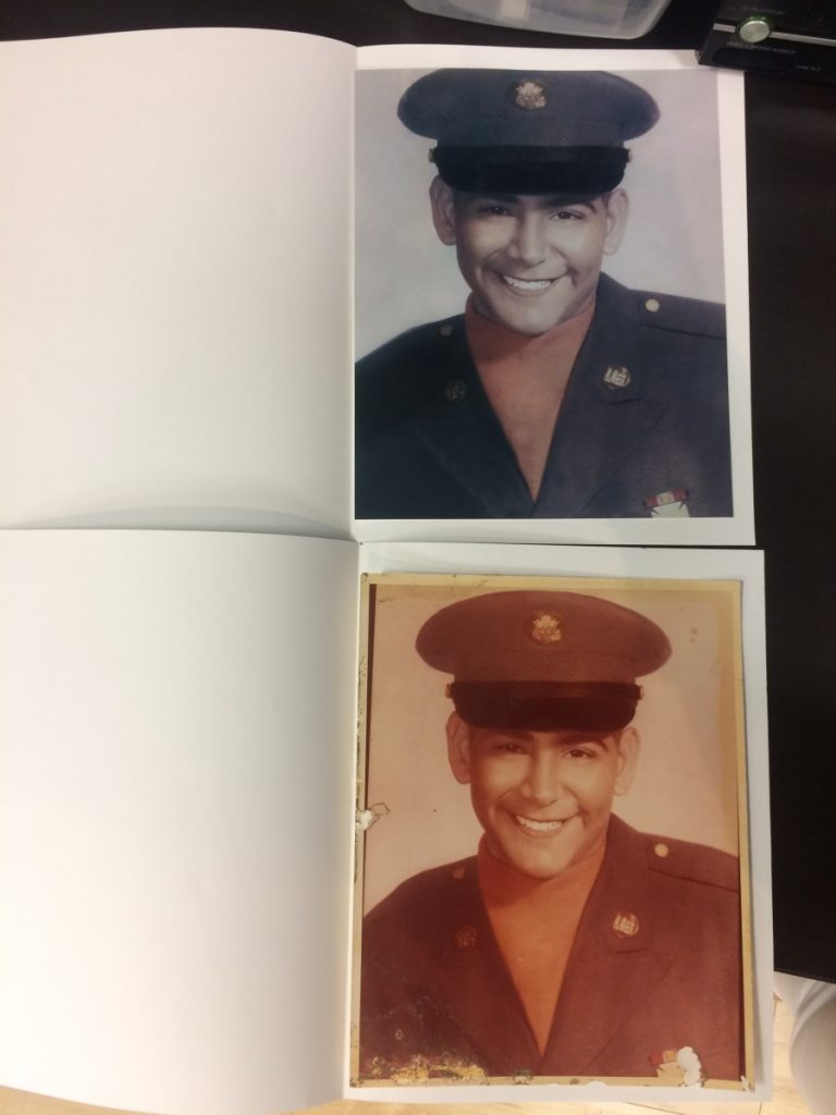 Photo Restoration Before & After